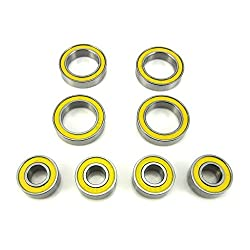 5334R Axle Carrier Bearings 6x13x5mm - 12x18x4mm YEL Traxxas E-REVO