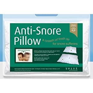 Snugfit Anti Snore Pillow Single Amazon Co Uk Kitchen Amp Home