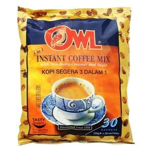 Instant Milk Coffee Mix 3 In 1 (30 Sachets)