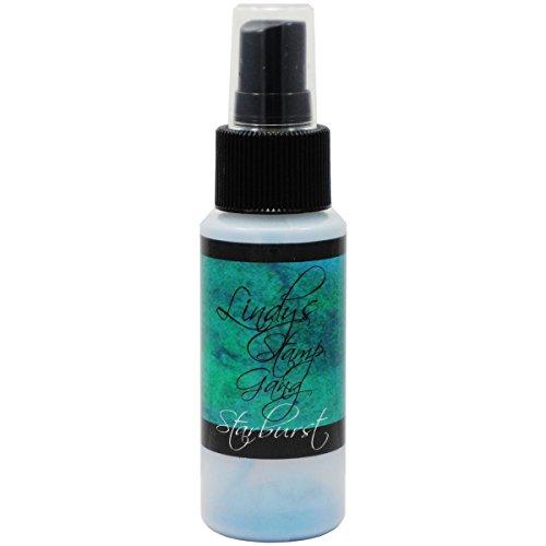 Lindy's Stamp Gang Starburst Spray 2oz Bottle-Tibetan Poppy Teal by_athenaexpress