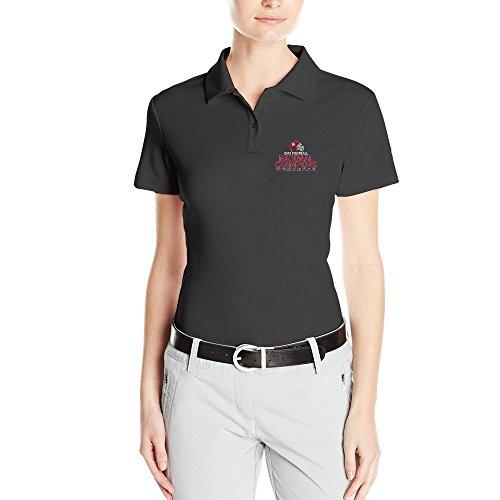 SARHT Women's ALABAMA CRIMSON TIDE 2015 Champions Polo Shirt Black