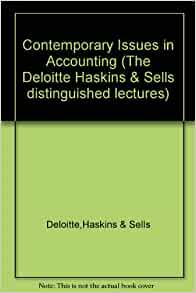 Issues in contemporary accounting differences in