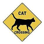 Cat Silhouette Crossing 12