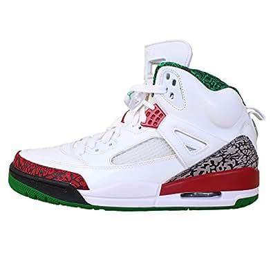 Jordan Mens Spizike White/Varsity Red-Cement 315371-125 10