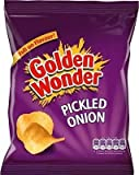 Golden Wonder Pickled Onion Crisps Box of 32 x 37.5g Bags