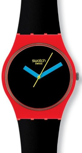 Swatch Originals AFM Laugh Time Black Dial Unisex watch #GR156