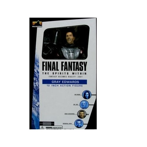 Final Fantasy 12 inch Gray Edwards Action Figure