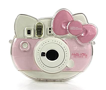 CAIUL-Transparent-Camera-Case-For-Fujifilm-Instant-Camera-Cheki-Instax-Mini-Hello-Kitty-INS-MINI-KIT-Polaroid