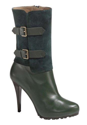 High-Heels-Stiefel: High Heel Stiefel von Patrizia Dini in Grün Gr. 42