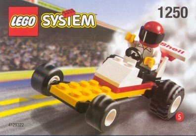 LEGO Shell Promo Town 1250 Dragster - 1