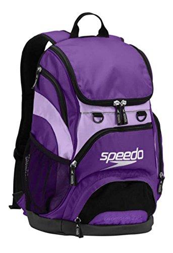 Speedo Teamster Backpack, Prism Violet/Bougainvillea,