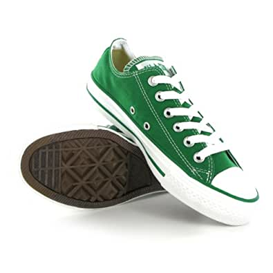Converse all star ox green mens trainers size 9 uk amazon for Converse all star amazon