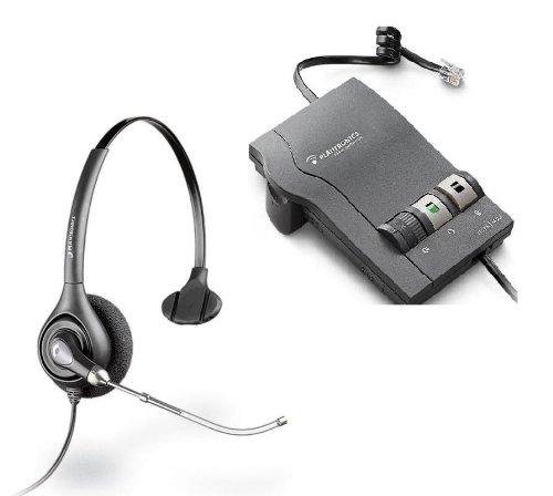 Plantronics Vista M22 Amplifier With Supraplus H251 Voice Tube Headset