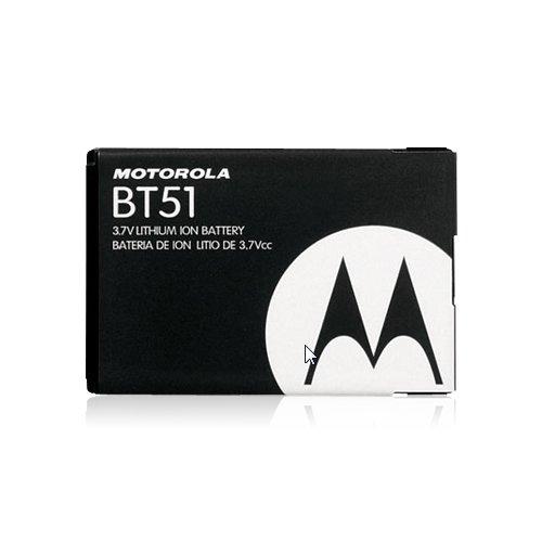Motorola Li-Ion Battery for Motorola W385, Z6m, Z6tv, W385, and W380 - Black