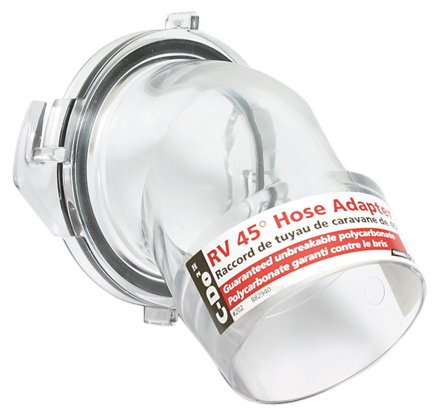 Camco 39432 C-Do 2 Clear 45 Degree Hose Adapter Sewer Fitting (Rv Sewer Clear compare prices)