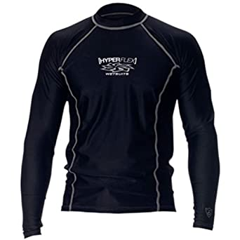Hyperflex Adult Loose Fit Rash Guard - BLUE SILVER by Hyperflex