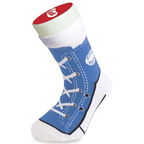 bluw-silly-socks-novelty-unisex-kids-size-1-4-cotton-converse-baseball-trainers-sneakers-style-crazy