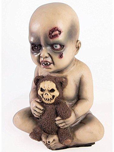 [Evil Scary Creepy Baby Holding A Bear 12