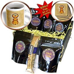 Dream Essence Designs Ancient Egypt - A Scarab Inspired By The Artworks And Beliefs Of The Ancient Egyptians And The Jewelry They Wore - Coffee Gift Baskets - Coffee Gift Basket Picture
