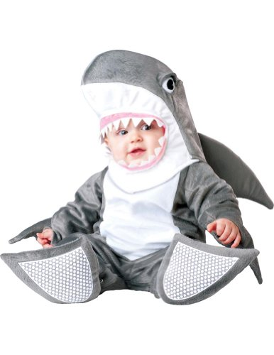 6-12 Months - Silly Shark Baby Costume 6-12 Months