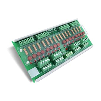 Opto 22 SNAP-TEX-FB16-L - 16-Point Breakout Board for SNAP I/O with Fuses and Bussed Power (12-24 V)
