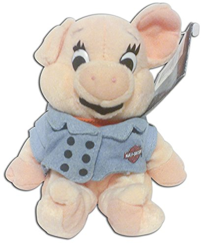 """Harley Davidson Bean Bag Plush Bob the Hog 7"""" - 1"""