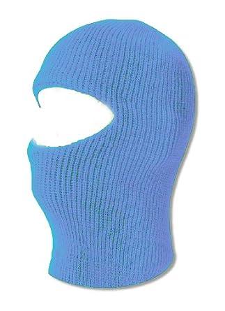 Face Ski Mask 1 Hole - Sky Blue