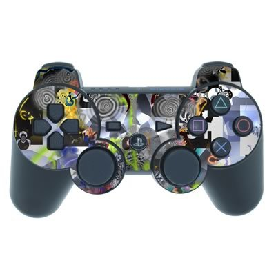 Mygift Marx Design Ps3 Playstation 3 Controller Protector Skin Decal Sticker