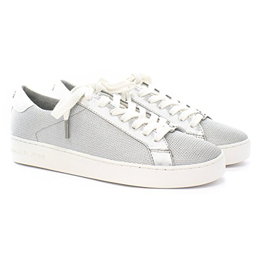 Michael Kors Sneaker Irving Lace Up Silver 39