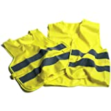 Oxford Bright Vest Essential Safety Clothing - Yellow