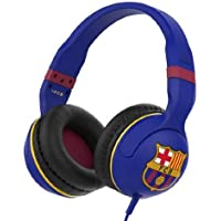 Skullcandy SCSGHSFY-129 Over-Ear 3.5mm Wired Headphones (FC Barcelona Navy)