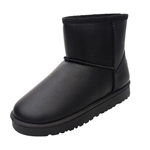 martin-bottes-chaussures-overdose-femmes-hiver-neige-dames-bas-talon-ceinture-boucle-36-noir