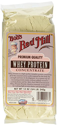 Bob's Red Mill Whey Protein Concentrate, 12-Ounce Bags (Pack of 4)
