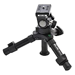 Slik Mini II Table-Top Tripod with Max. Load of 2.75lbs (1.240g)