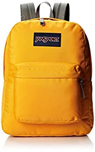 JanSport Superbreak Backpack - Beez Yellow / 16.7