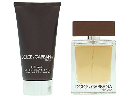 The one uomo edt 50 ml + Balsamo dopobarba 75 ml di Dolce&Gabbana, Uomo - Cofanetto
