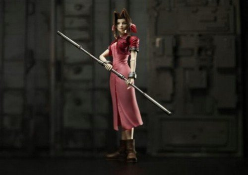 FINAL FANTASY VII PLAY ARTS エアリス・ゲインズブール(PVC塗装済みアクションフィギュア)
