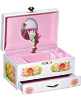 Musicboxworld Jewellery Box Fairy Playing a Well Known Melody