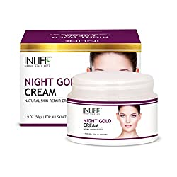 INLIFE Night Gold Face Cream - 50 g