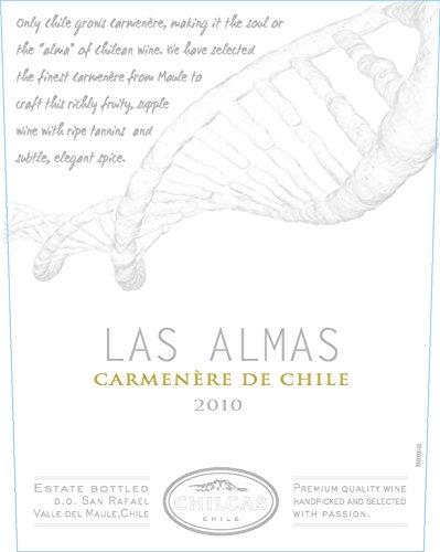 2010 Chilcas Las Almas D.O. San Rafael - Valle Del Maule Chile Carmenere 750 Ml
