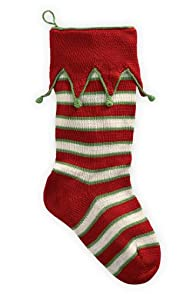 Melange Collection Fair Trade Elf Cuff Stocking (Multi)