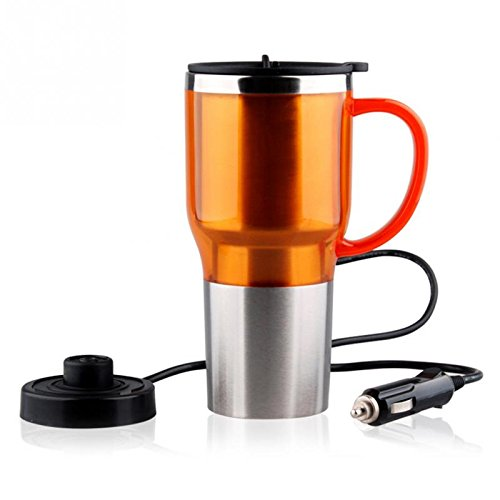 Creative Big belly Car Heating Cup Electric Kettle Cars Thermal Heater Cups Boiling Water Bottel Auto Accessories (Adagio Water Boiler compare prices)