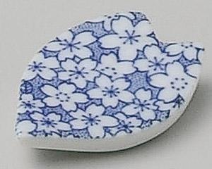 Sakura 5.2cm Ensemble de 10 Chopstick Rests White porcelain Originale Japonaise