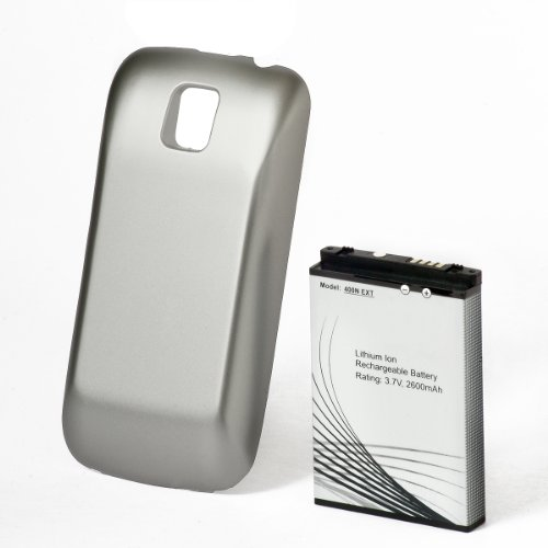 Ontrion Ox-Lgb-79520 Extended Battery With Door For Lg Optimus Metro And Cricket - Retail Packaging - Black