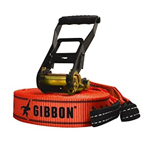 Gibbon Slacklines - Classic, Red, 49-Feet
