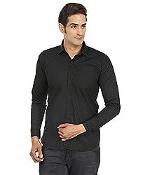 FOCIL Black Casual shirt for men