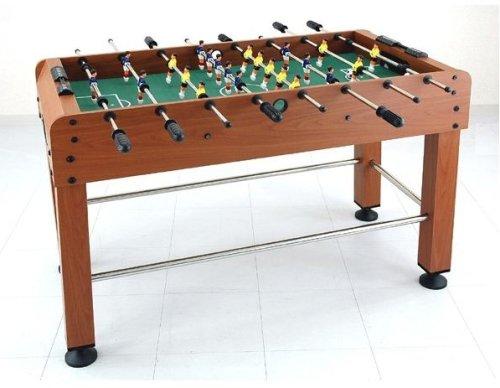 天然木製サッカーゲーム