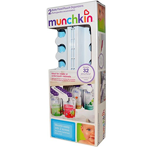 Munchkin Baby Food Pouch Organizer, Set of 2 [Baby Product] - 1
