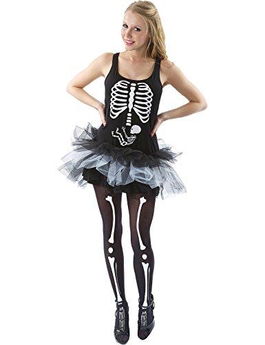 Skeleton Baby Dress - Large
