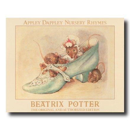 Appley Dappley Nursery Rhymes Beatrix Potter Kids Picture Print